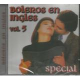 Cd - Boleros Em Inglês - Volume 5 - Kate Bush - Lacrado