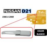 86-08 Nissan Camioneta Gancho Tapa Trasera Blanco Derecho