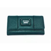 Billetera Guess Original Verde 18x10 Cm Aprox Cod 007