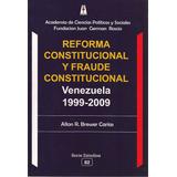 Reforma Constitucional Y Fraude Constitucional Venezuela
