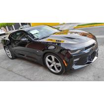 Chevrolet Camaro Ss 2016.negro Impecable Linea Nueva