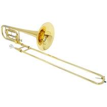 Trombone De Vara Shelter Tjs6423l2 Em Bb/f Laqueado C/ Case