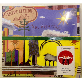 Cd Paul Mccartney - Egypt Station - Ediçao Target