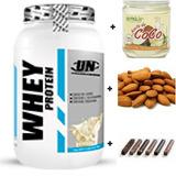 Whey Protein Ganador De Peso Masa Muscular Aceite De Coco