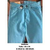 Hollister : Jeans 100% Originales