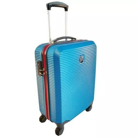 Maleta De Cabina Trolley Azul Con Clave, Maleta De Mano