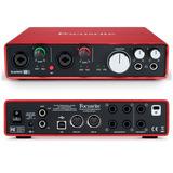 Interfaz De Audio Scarlett 6i6 Mk2 Usb, Focusrite