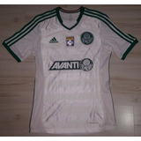 Camisa Away De Jogo Palmeiras 2013 adidas #38 Leandro Avanti
