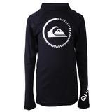 Camiseta Lycra Rashguard Infantil Quiksilver Check Preto-06