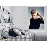 Adesivo Parede Poster Foto Cantor Música Justin Bieber