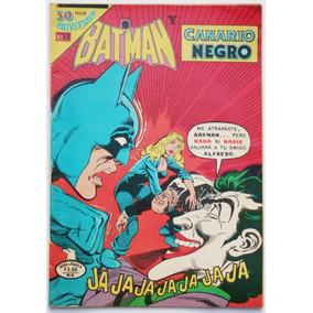 Batman # 1043 Canario Negro Joker 1980 Novaro Aguila