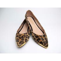Lindos Zapatos Dama Baleta Animal Print Nemar Calzado
