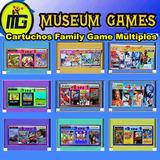 Cartuchos Multiples Para Family Game 8 Bits -nuevos-local-