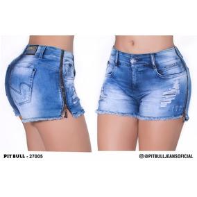 Short Jeans Shorts Feminino - Shorts Algodão no Mercado Livre Brasil 34dd64f4a78