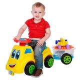 Carrinho Baby Ride Colorido Com Trailer 3060 - Maral