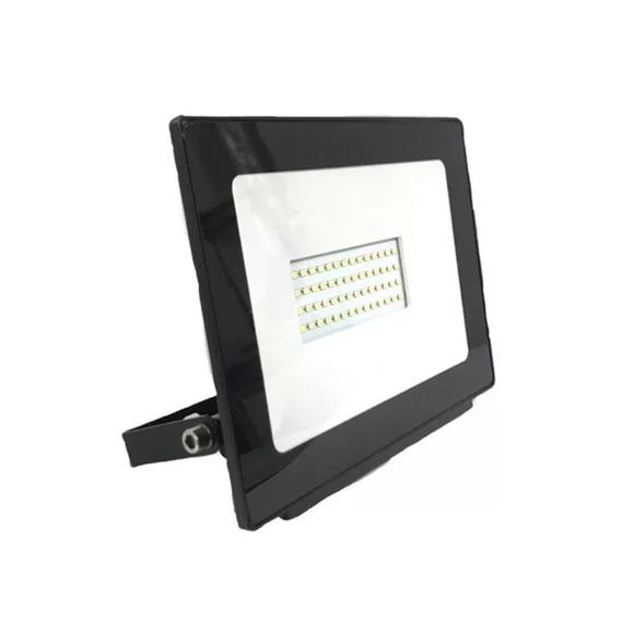 Reflector Led 50w Exterior Luz Calida Fria R