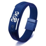 Reloj Unisex Tipo Casual Led Rectangular Deportivo Digital