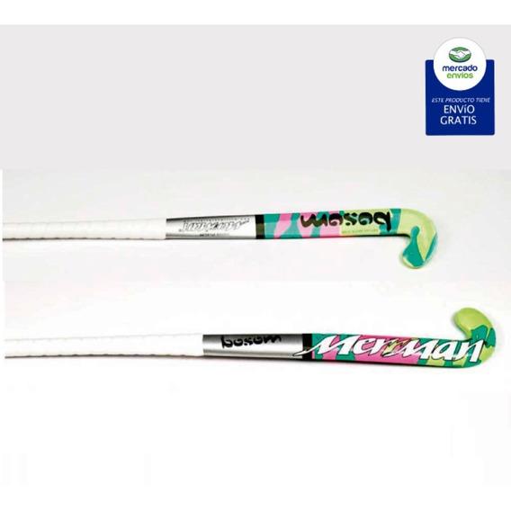Palos Hockey Fibra/carbono Importado Pakistan Merriman