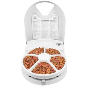 Alimentador Automático Eat Well Plus (5 Refeições) - Petsafe