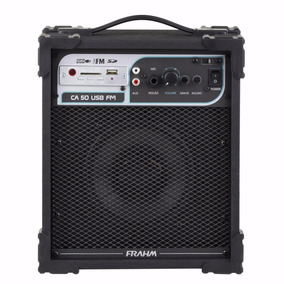 Caixa Amplificada Multiuso Frahm -ca50 Preta