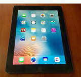 Tablet Apple Ipad 3 16gb Wifi Negra Pantalla Retina Barata