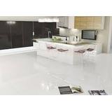 Porcelanatos Blanco Perlado 60x60 Super Glossy 1 Calidad