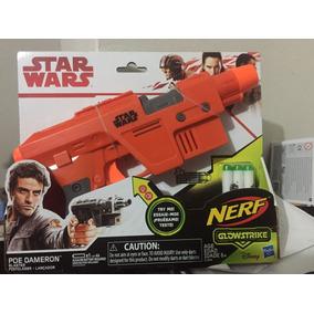 Star Wars Nerf Poe Dameron Glowstrike Original Hasbro New 2