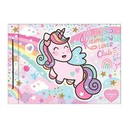 Carpeta Escolar Nro 5 Dibujo Quitapesares Unicornio Mooving