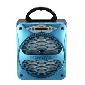 Mini Caixa De Som Portatil Speaker Bluetooth Micro Sd Usb Fm