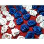 Rosas De Porcelana Fria Para Souvenirs Centros De Mesa X10