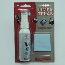 Kit Limpa Telas De Tv Lcd Led Monitores Brasforma