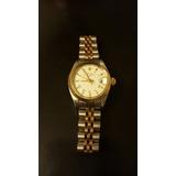 Reloj Pulsera Rolex Oyster Perpetual Combinado Dama