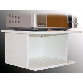Muebles para horno y anafe amoblamientos de cocina en for Repisa para microondas