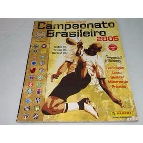 Lote 10 Figurinhas Álbum Campeonato Brasileiro 2005