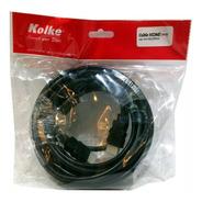 Cable Hdmi 7 Mts 1.4v Doble Filtro Dorado 7 Metros Full Hd