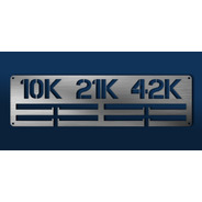 Medallero 10k 21k 42k Porta Medallas Personalizado Gratis