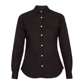 Camisa Mujer Deleon Negro Hill The Net Boutique