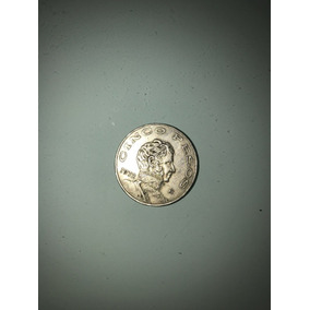 Modedas Cinco Pesos Año 1972