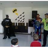 Superman Batman Iroman Avengers Spiderman Show Fiestas