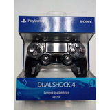 Dual Shock Jet Black Ps4 Controller