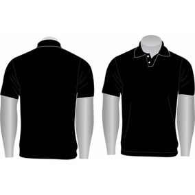Kit 10 Camisas Gola Polo Básica Lisa Masculina Piquet Pa