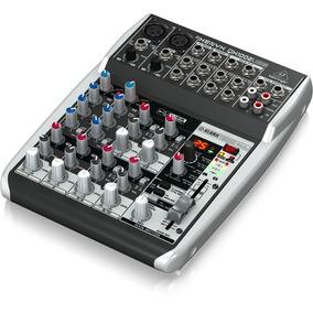 Mesa De Som Mixer Behringer Xenyx Qx1002usb 10 Entradas