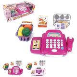 Máquina Registradora Caixa Infantil Glam Som Luz Acessórios