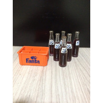 Mini Garrafinhas Fanta Uva - Coca Cola Anos 80 -raríssimas !