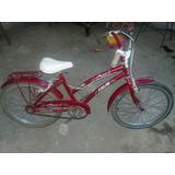 Chochesito De Nena.bicicleta Caloi Rodado 20 De Niña
