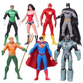 Boneco Liga Da Justiça Dc Comics Batman Superman Flash