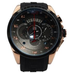 e5cbf01d5f5 Relógio Masculino Emborrachado Preto E - Relógios De Pulso con ...