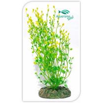 Planta Artificial Mydor Rorippa 30x10cm Enfeite Aquário