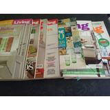 Revistas Living (entre 150 Y 300 Pag C/u).