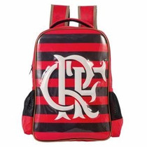 Mochila Sempre Flamengo Xeryus Original Rubro Negra